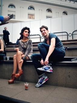 Moscow Fashion Week 2012 Backstage