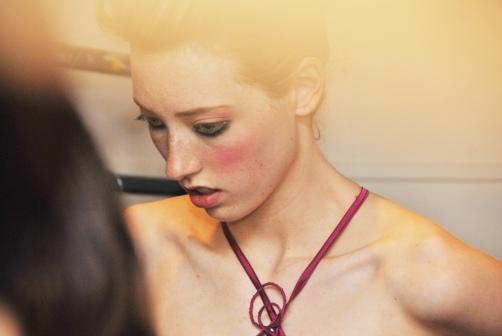 Brighton Fashion Week 2012 Backstage